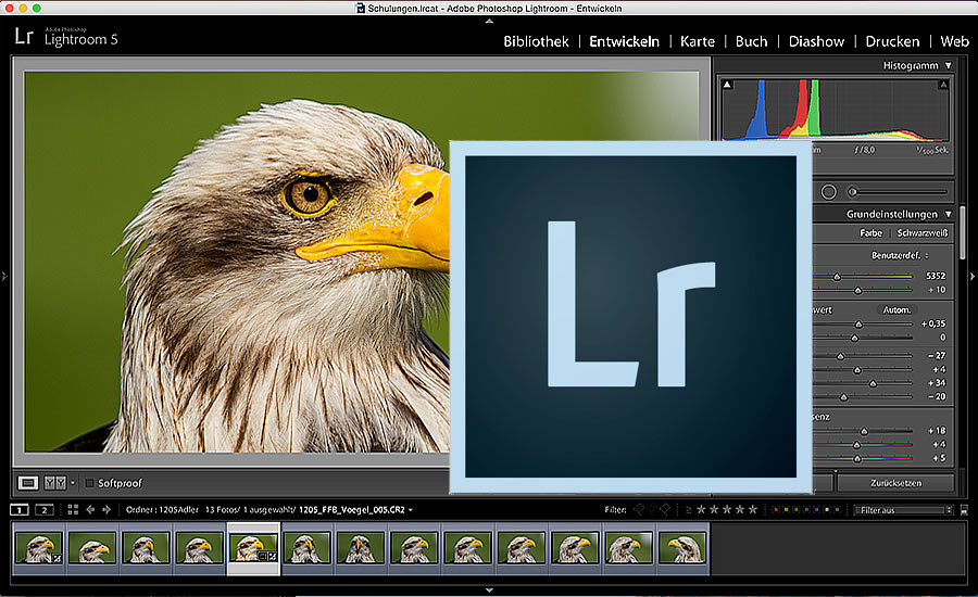 Lightroom Workshop: Professioneller Workflow - %von extreme visual ...